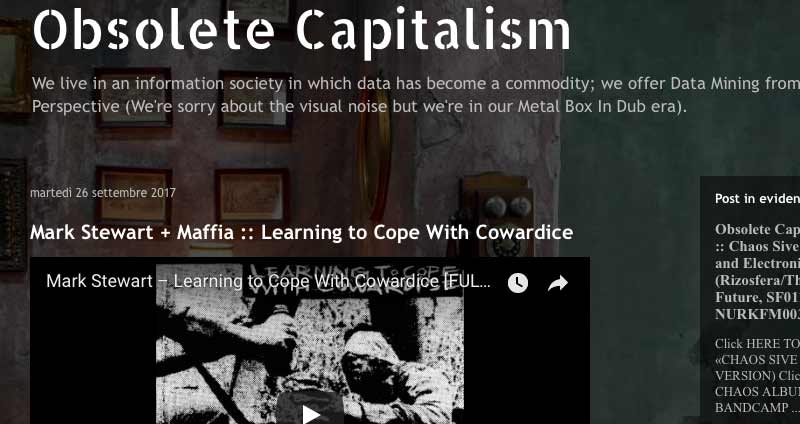 Blog :: Obsolete Capitalism